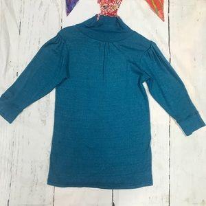 Michael Stars Blue turtle neck shirt